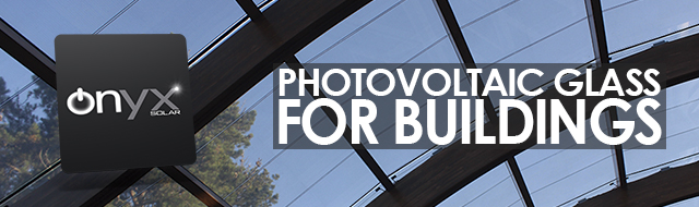 Photovoltaic Glass for Buildings
