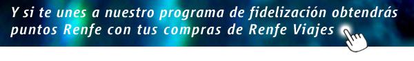 Programa de Fidelización +Renfe