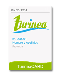 Tarjeta Turinea