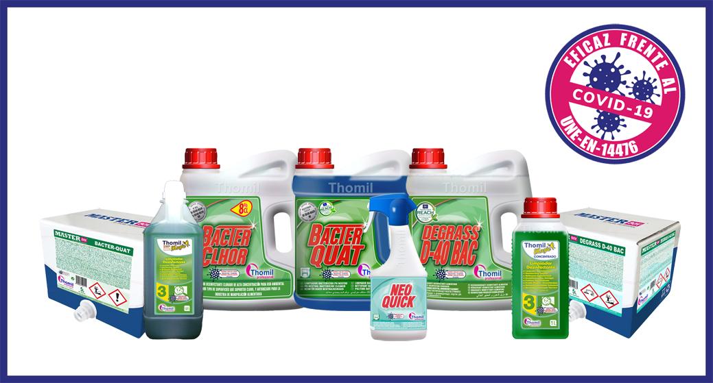 Productos Virucidas Thomil