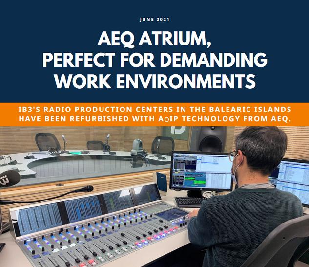 AEQ ATrium - perfect for demanding work environments