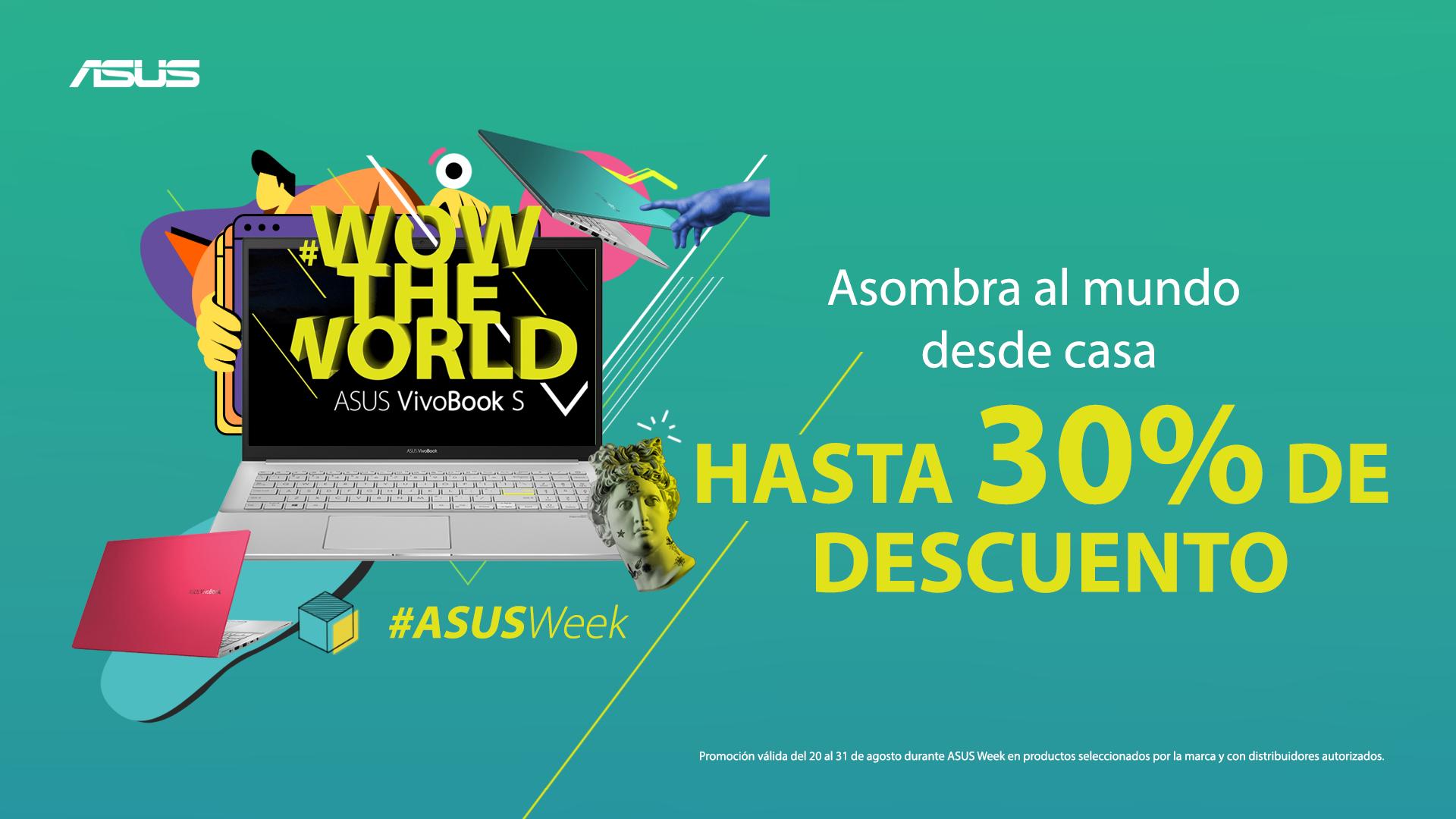 ASUS llega con grandes descuentos en laptops