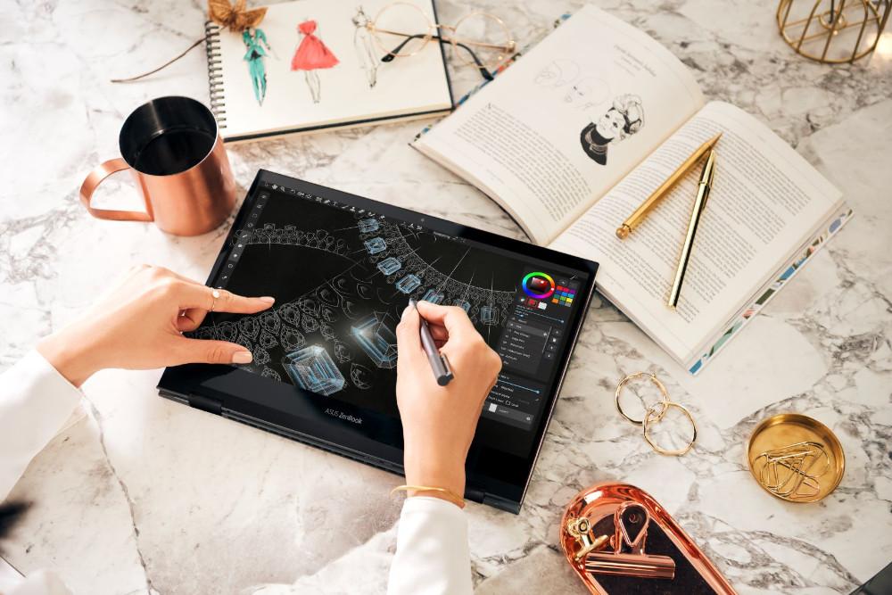 ZenBook Flip S OLED llega a México y es la laptop más elegante de ASUS