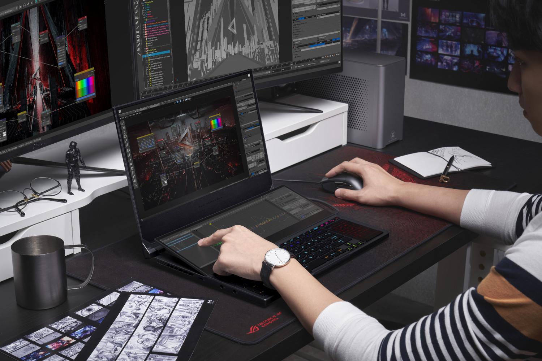 Estas son las nuevas laptops con gráficos NVIDIA GeForce RTX de serie 30 de ASUS y ROG que llegan a México