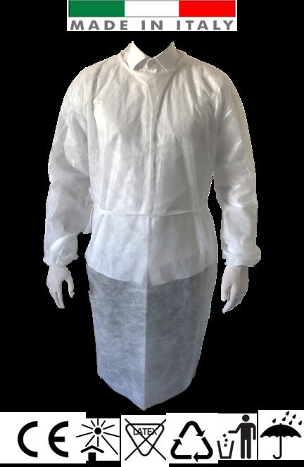 camice monouso tnt 30g