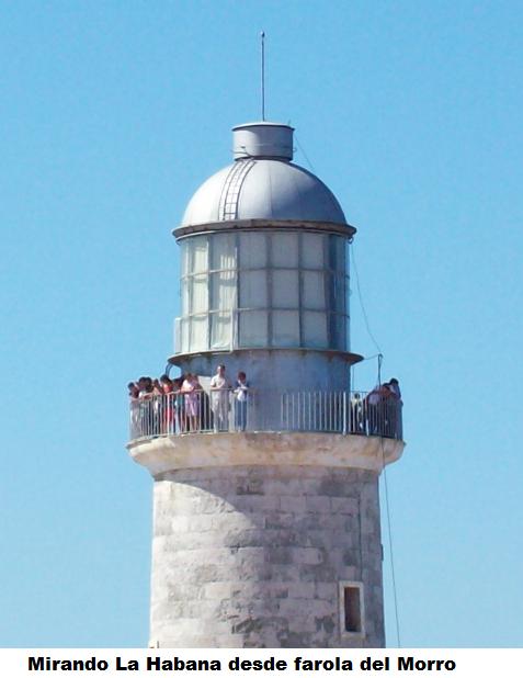 Mirando La Habana desde el Morro
